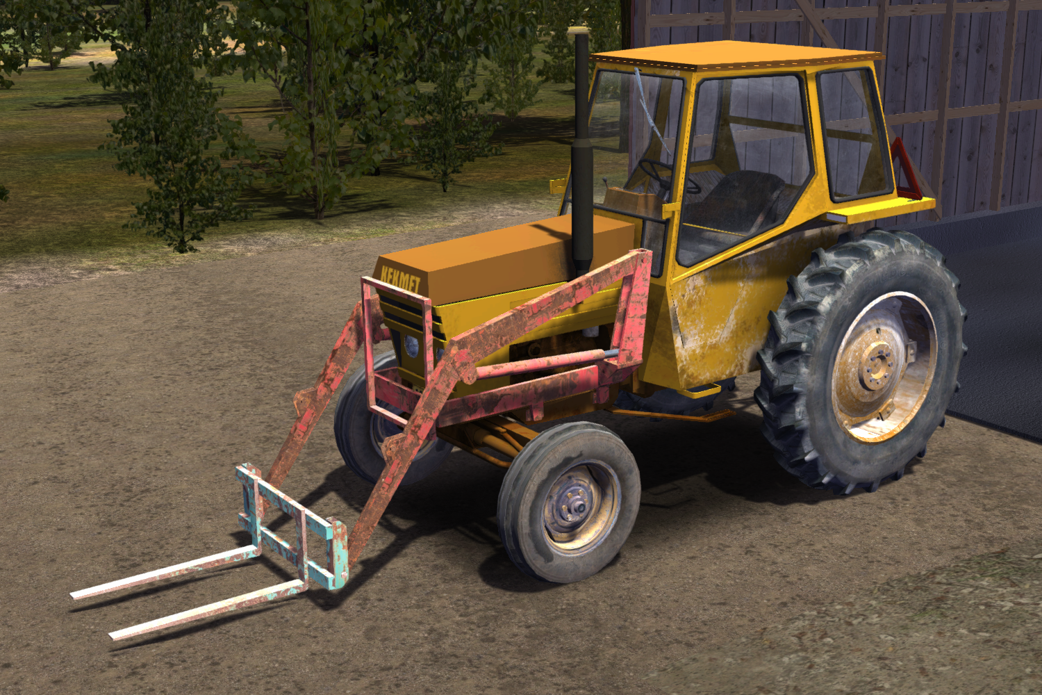 My summer car how to drive sewage truck