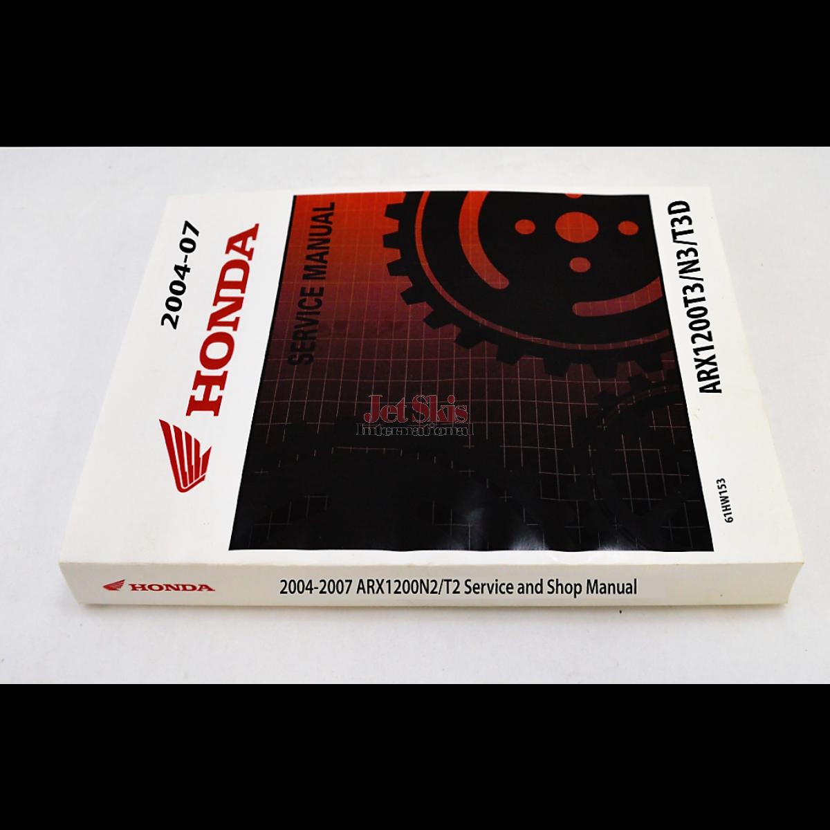 2004 honda aquatrax r 12x turbo owners manual