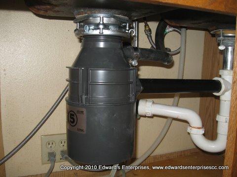 kenmore garbage disposal installation manual