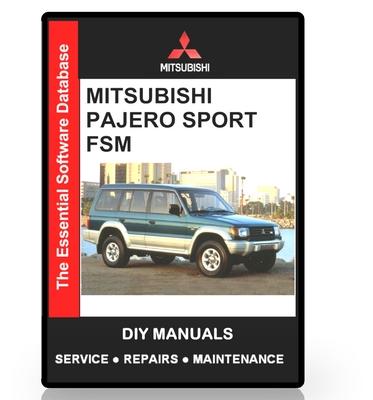 mitsubishi challenger workshop manual pdf