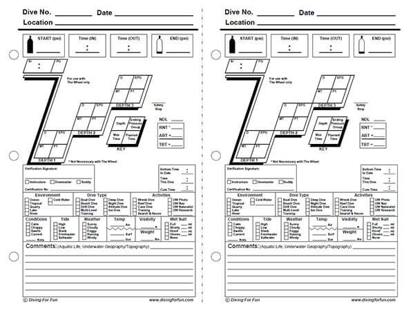 Padi dive log book pdf
