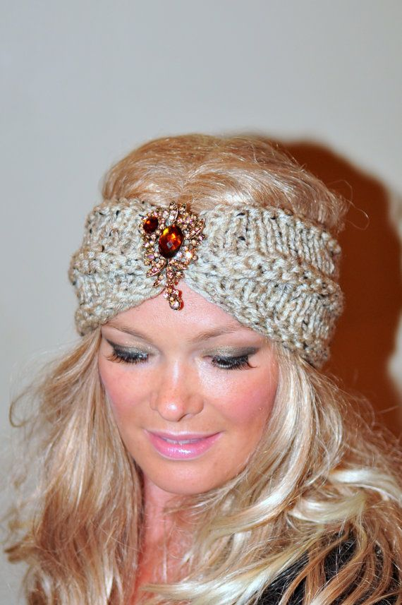 knitted head wrap instructions