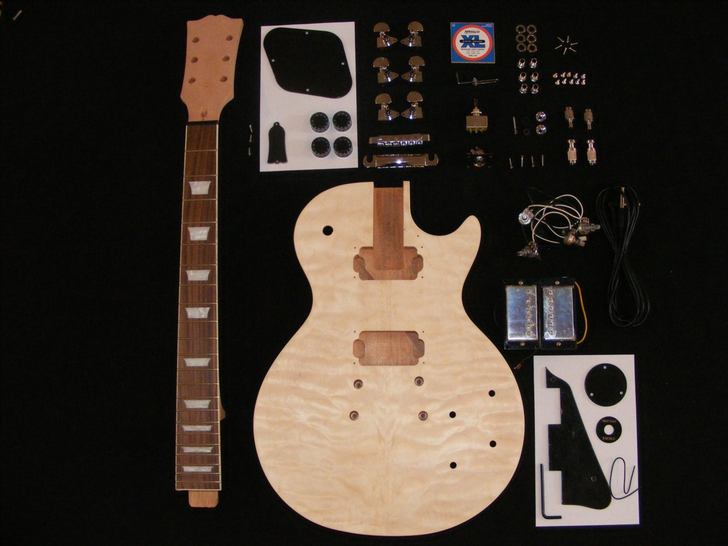 guitar kit assembly instructions