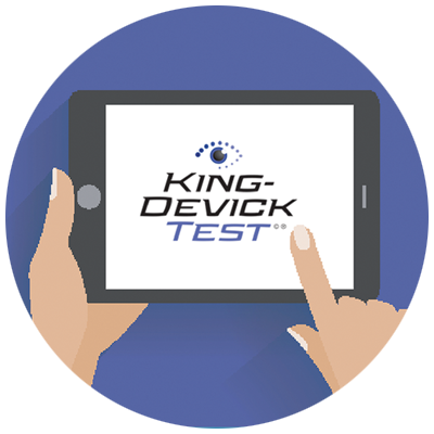 king devick test instructions