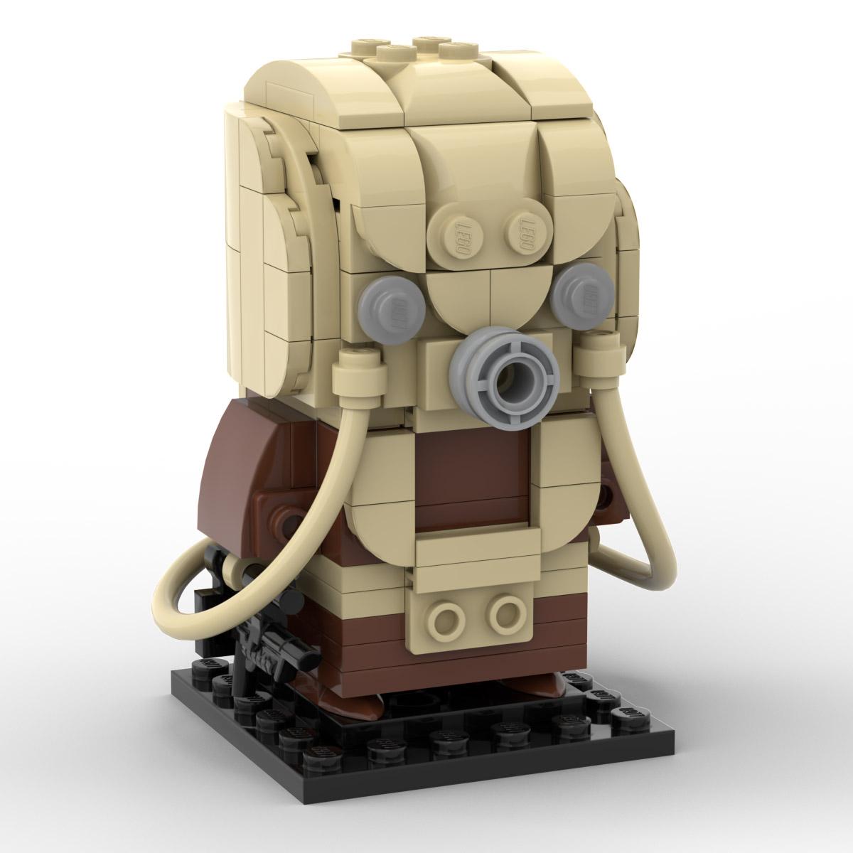 lego moc brickheadz greedo instructions