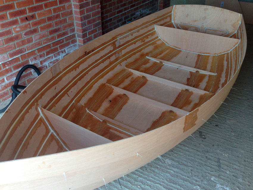 Heron dinghy rigging instructions
