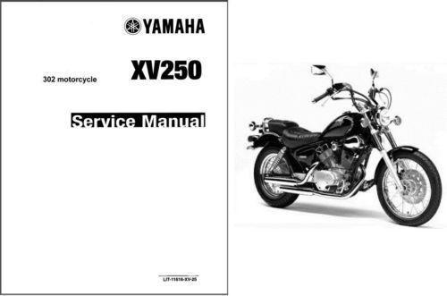 yamaha virago 250 maintenance manual