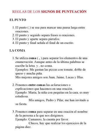 Signos de puntuacion ejemplos pdf