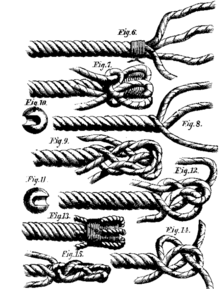 rope to wire splice instructions