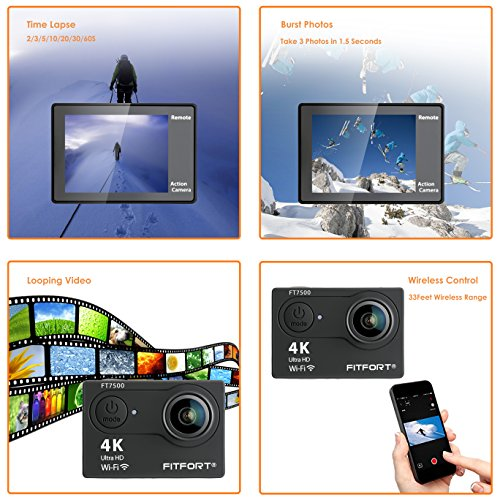 fitfort action camera 4k manual
