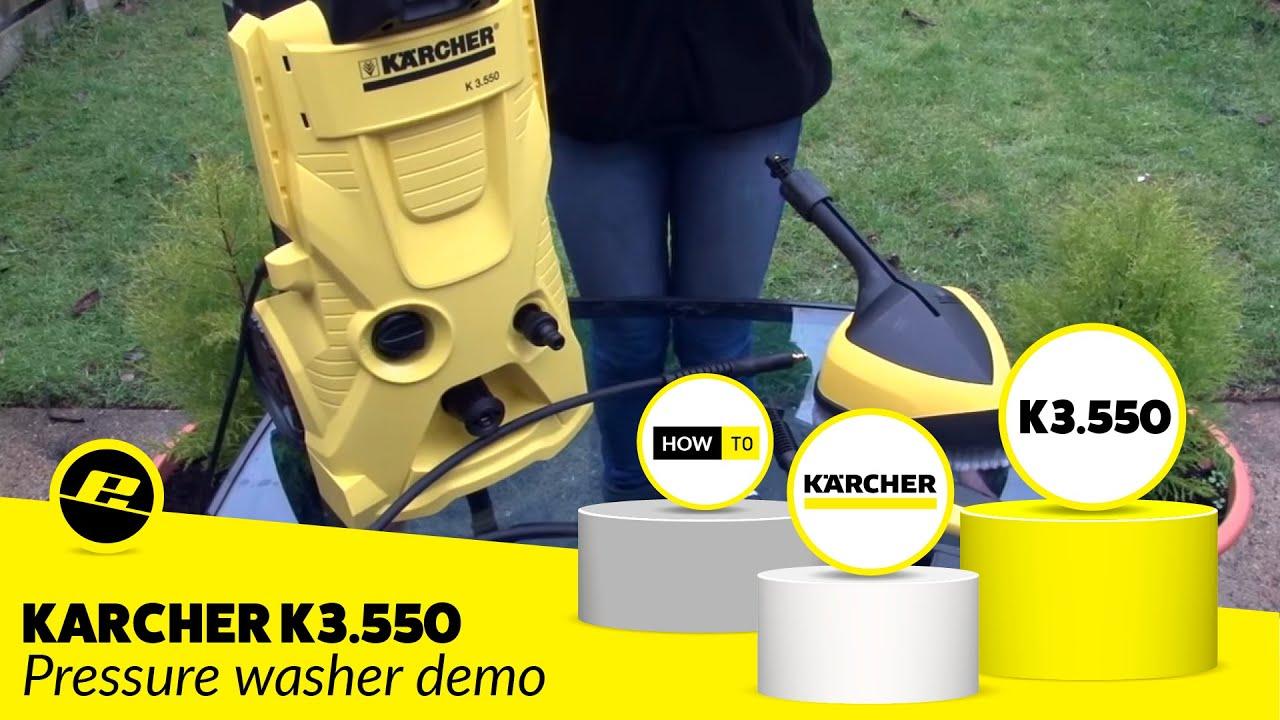 karcher pressure washer instructions