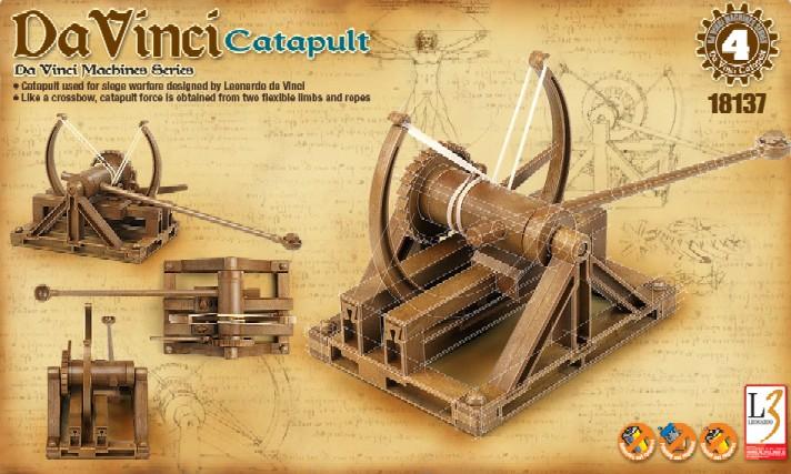 Leonardo da vinci catapult instructions
