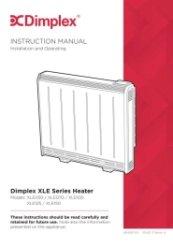 dimplex storage heaters instructions