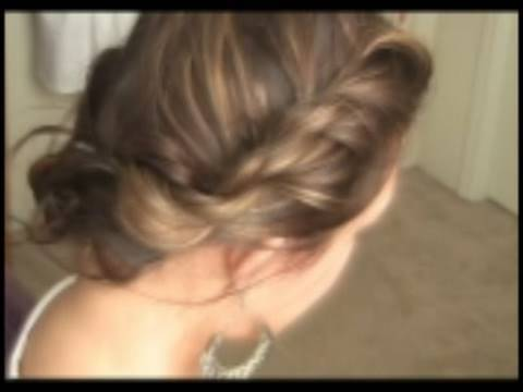 Learn how to do hair updos