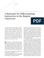 pro and cons of differentiated instruction