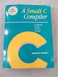 A small c compiler hendrix pdf