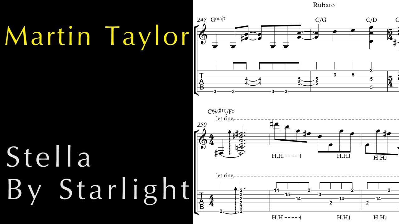 So what bass transcription pdf