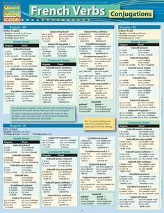 French verb conjugation book pdf