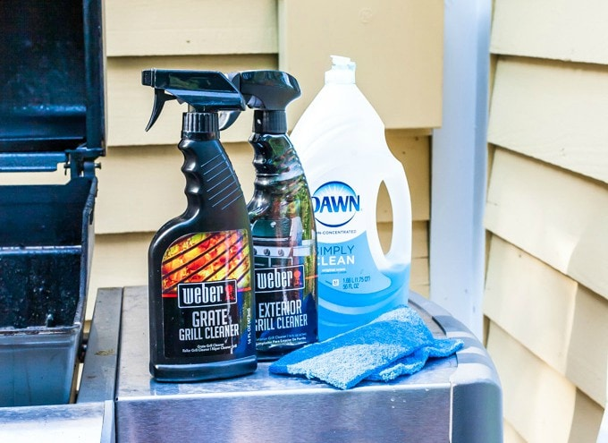 easy off grill cleaner instructions