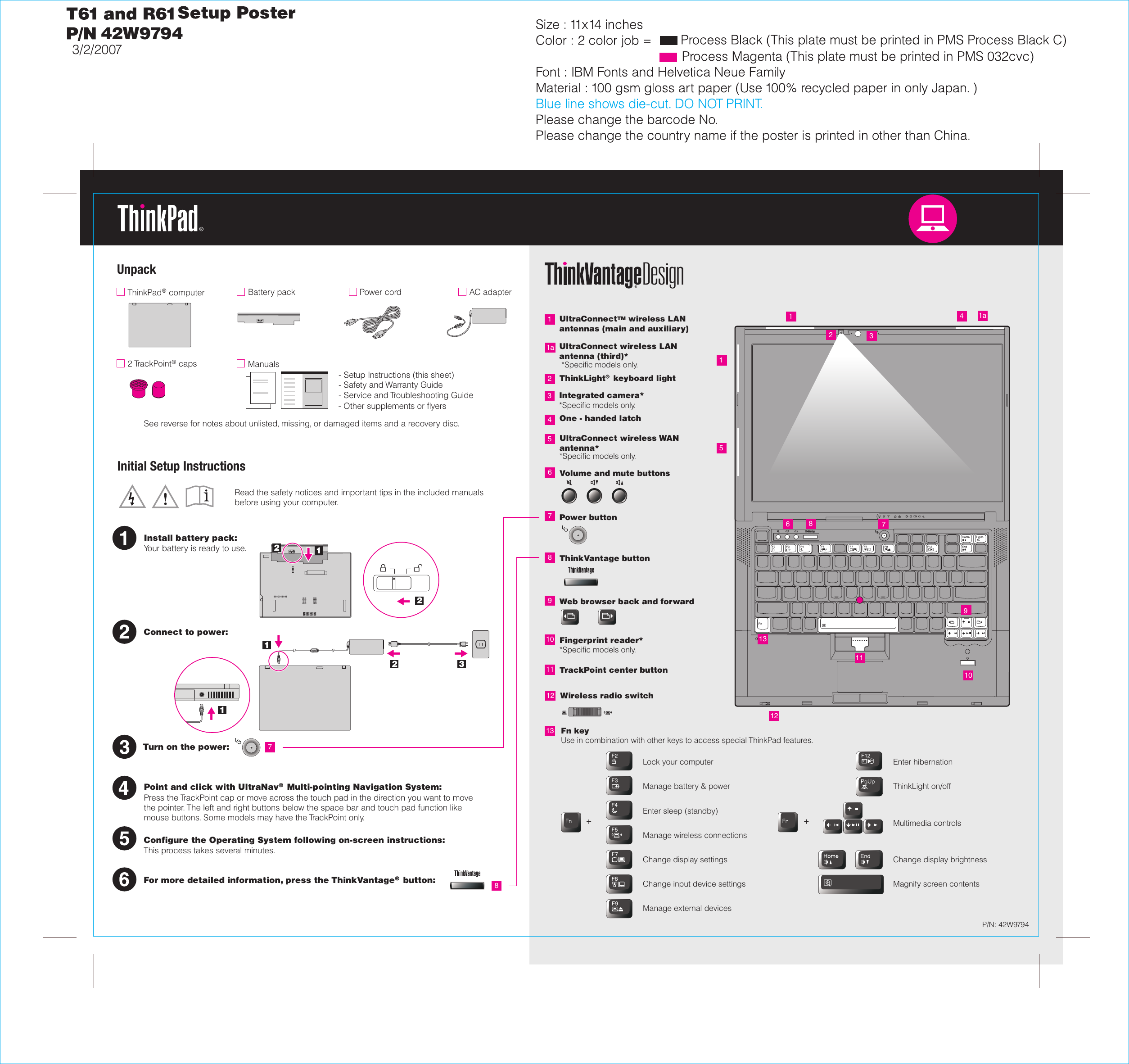 lenovo thinkpad t61 user manual
