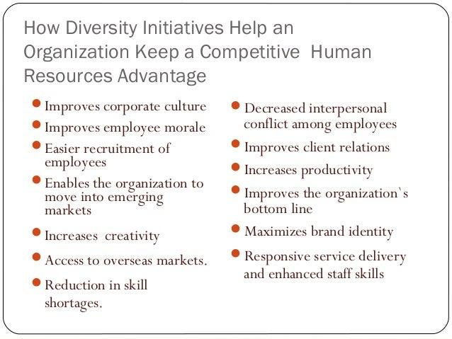 Advantages and disadvantages of workforce diversity pdf