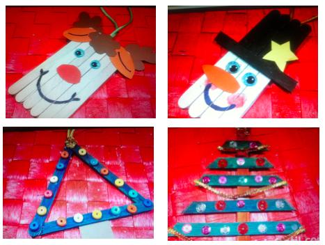 Aternos de navidad manualidades infantiles dia