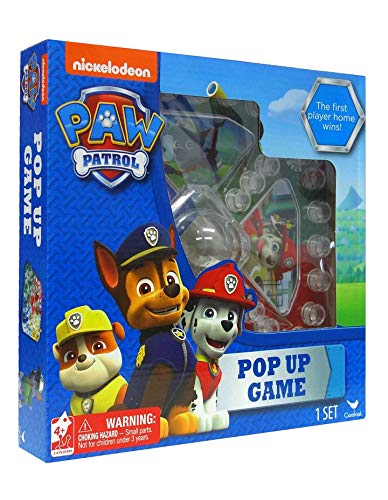 paw patrol pop up game instructions