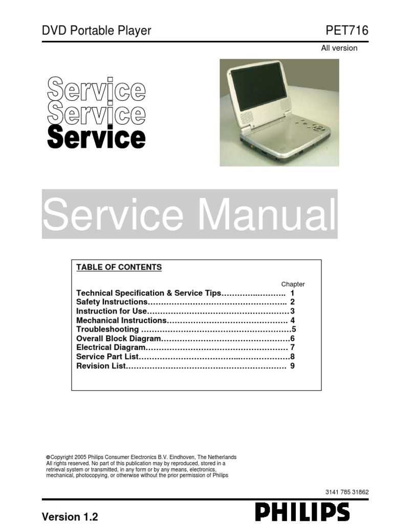 tevion portable dvd player instruction manual