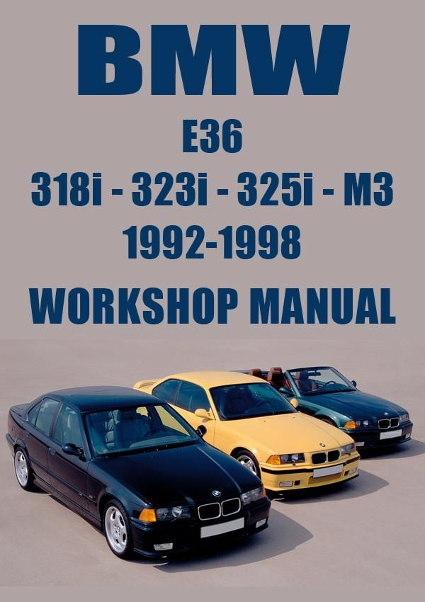 1994 bmw 318i workshop manual free download