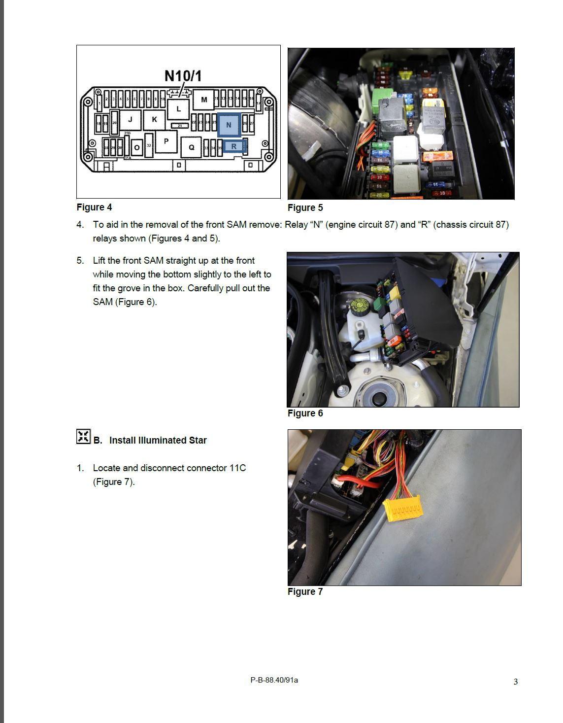 Mercedes benz illuminated star installation instructions