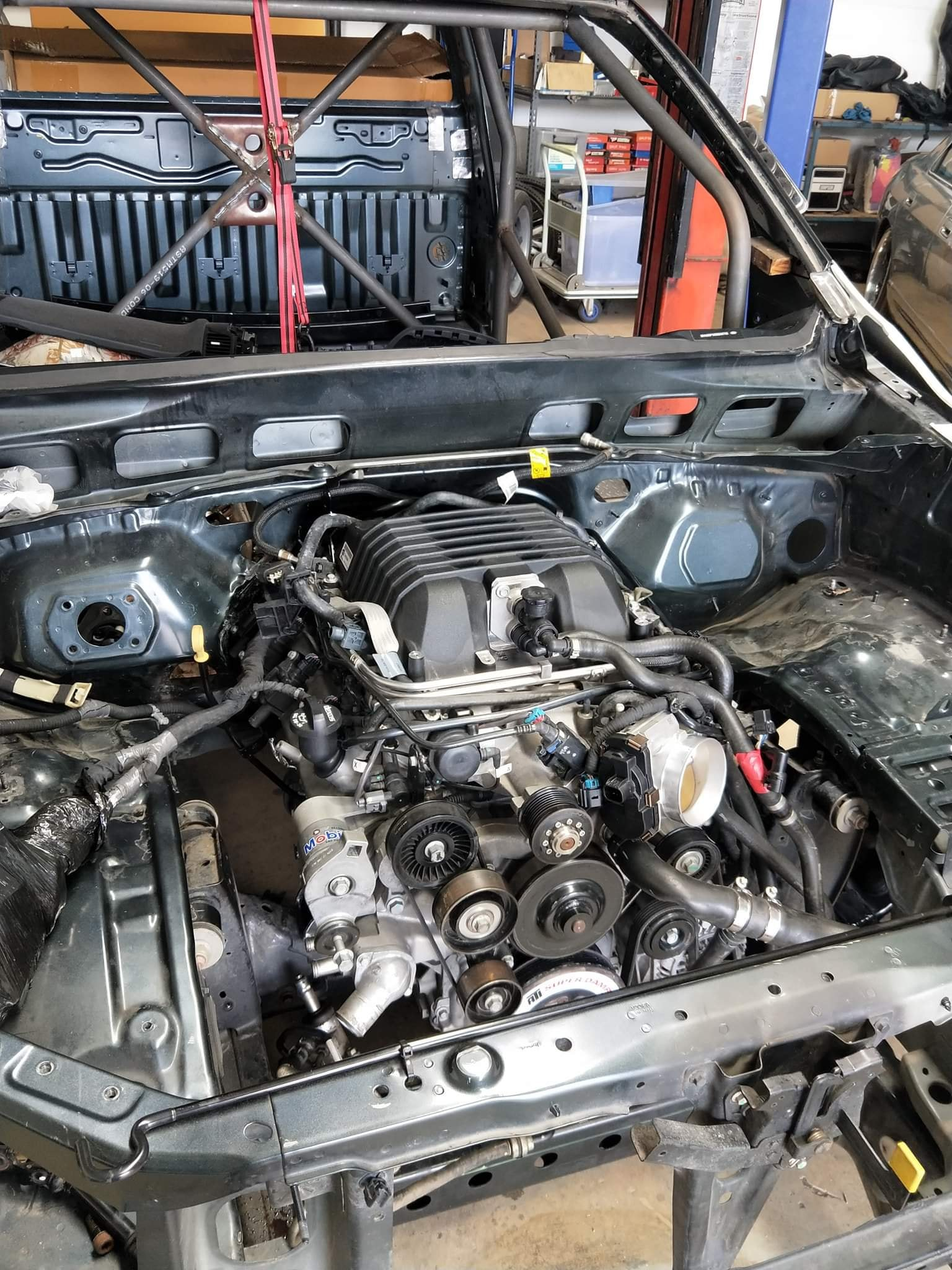 Ford ranger engine swap guide