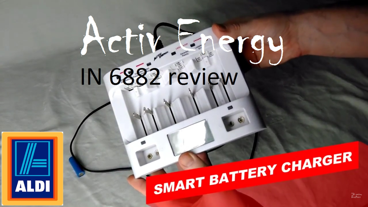 Activ energy battery charger instructions