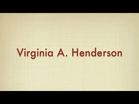 Virginia henderson need theory pdf