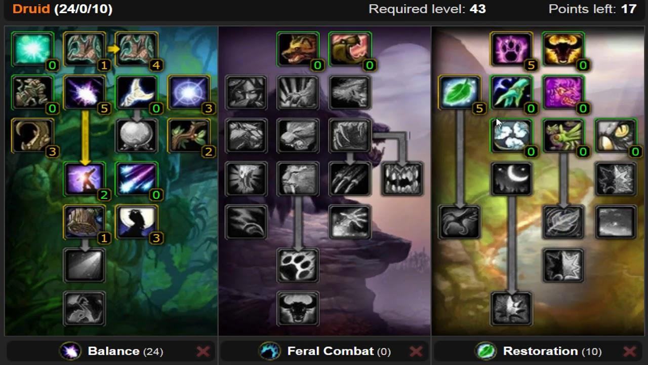Balance druid pvp guide 3.3 5