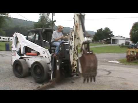 Bobcat 811 backhoe attachment manual