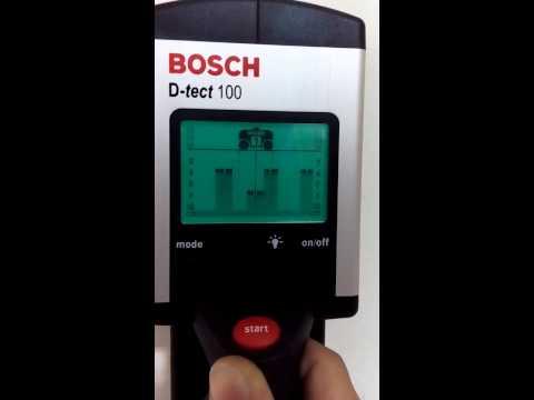 Bosch d tect 100 manual