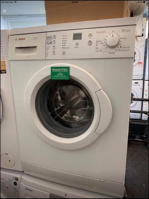 bosch exxcel 1100 washing machine manual