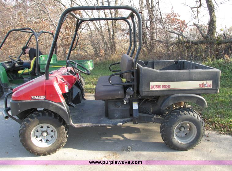 bush hog utv parts manual