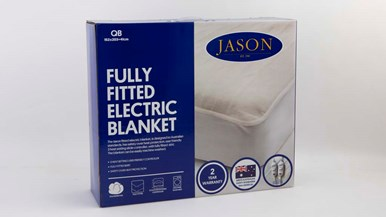 jason electric blanket instructions