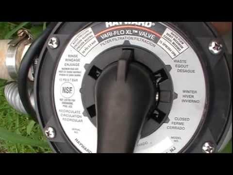 hurlcon sand filter instructions