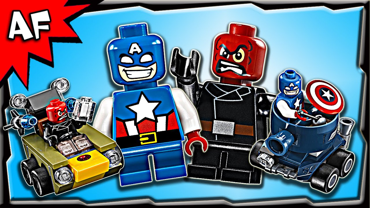 captain america mighty micro lego instructions