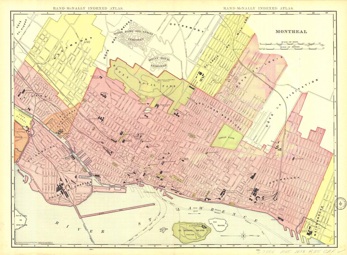 Carte ville de montreal pdf