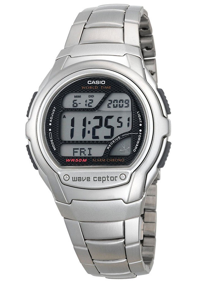 Casio wave ceptor illuminator world time manual
