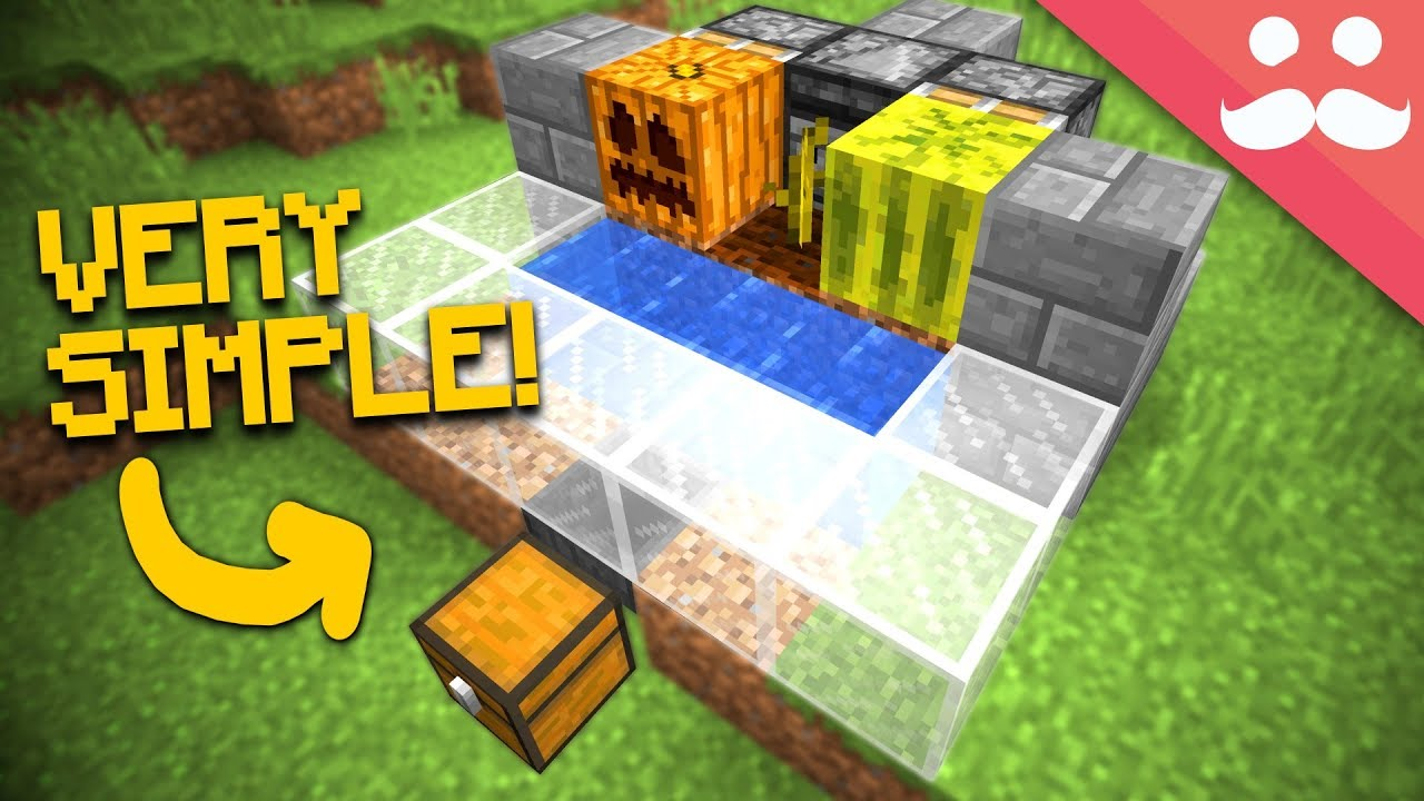Minecraft how to make an auto farm