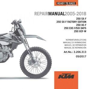 2005 ktm 525 exc manual