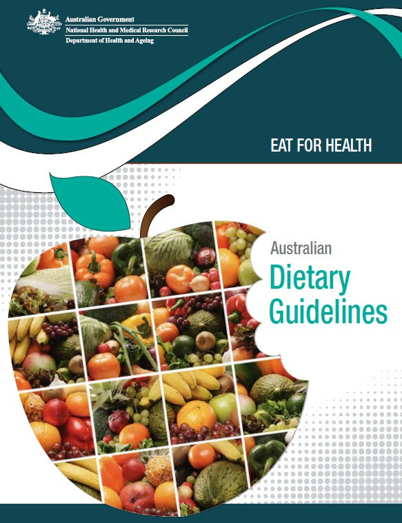 Dietary guidelines for australian children