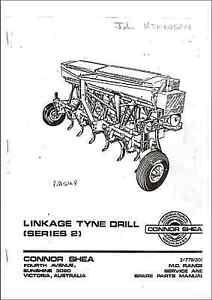 connor shea 475 series manual