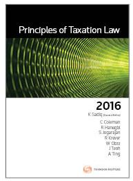 Core tax legislation