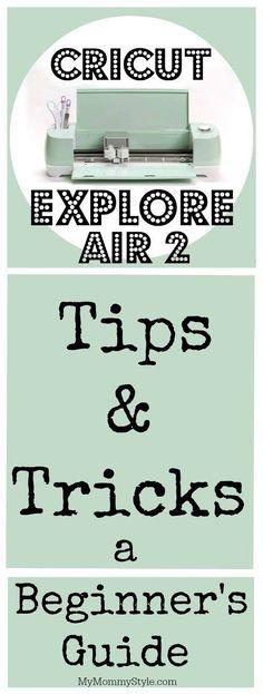 cricut explore air 2 user manual