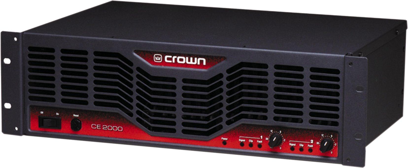Crown x2000 power amp manual